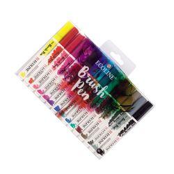 로얄탈렌스 탈렌스 에코라인 브러쉬펜- 15color Set