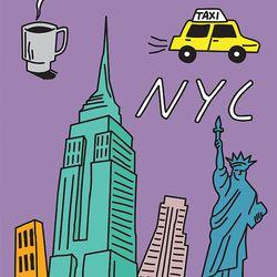 NYC 포스터(A3)