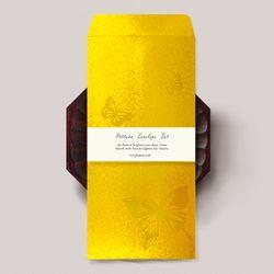 황금 나비 비단봉투 FB2021p-5 (3장)