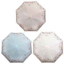 헬로키티 자동 3단 우산 55cm (테마파크)(3color)