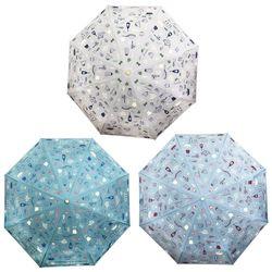 헬로키티 자동 3단 우산 55cm (쿠킹)(3color)