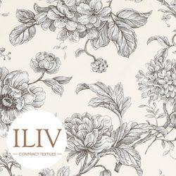 ILIV Aquitaine Fabric Charcoal  영국수입원단 북유럽원단