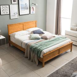 마르코 원목 침대 코튼 9존 독립 Q