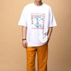 [매트블랙] 아쿠아 박스 반팔 티셔츠