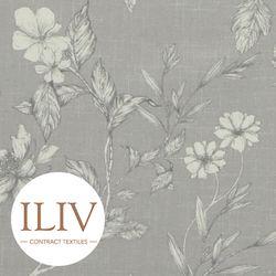 ILIV Etched Vine Fabric Feather 영국수입원단 북유럽원단