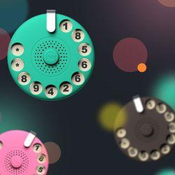 에코팩토리 디자인 주차번호판 폰넘버보호NU