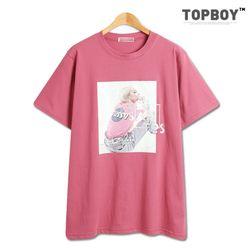 [탑보이] 반전사로스 반팔 티셔츠 (TR804)