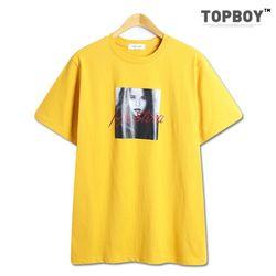 [탑보이] 반전사크리스티나 반팔 티셔츠 (TR802)