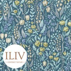 ILIV Kelmscott Fabric Prussian 영국수입원단 북유럽원단