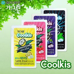동아제약 가그린 쿨키스(7g 50정 10개)