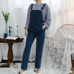 Casual denim overall