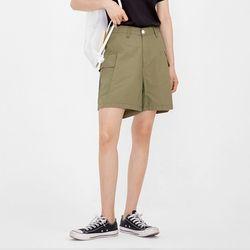 cargo cotton short pants