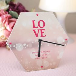 꿈같은사랑 알루미늄 포토 시계