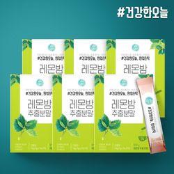 건강한오늘 한입스틱 레몬밤 추출 분말 6박스(84포)