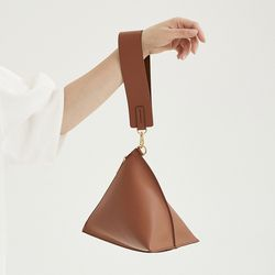 Brown Triangle Bag