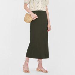 vely slit long skirt