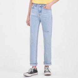 damage casual denim pants (s m l)