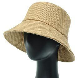[더그레이]NHU03.내츄럴린넨 여성 벙거지 모자 버킷햇