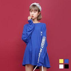 2222 디스코 레터링 티셔츠 (4colors)