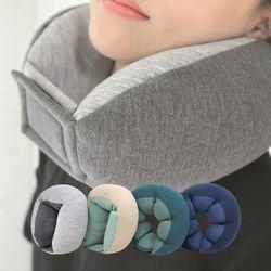 이몽 네오플랜 리버시블 목쿠션 여행용 휴대용 기내용 목베개