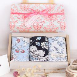 MediumTempo - 모란 3종 선물세트(3장& 선물박스)