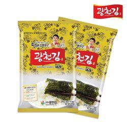 [무료배송] 달인 김병만의 재래 or 파래 전장김  10봉