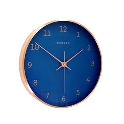 모노뜨 30cm 카파프레임 벽시계 (블루)