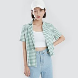 [로코식스] 키라 더블 버튼 셔츠