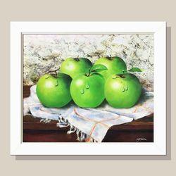 사과그림 만사형통 풋 사과그림액자 돈들어오는그림