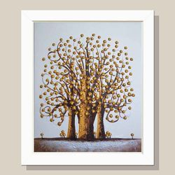 돈들어오는그림 황금나무 인테리어 그림액자 그림선물