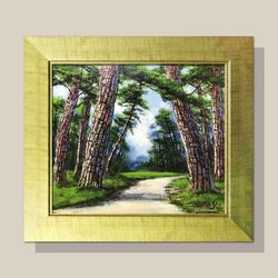 풍수지리 인테리어 소나무그림 물그림 거실 그림액자