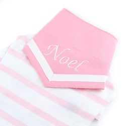 NAME COOL SCARF (BABY PINK)