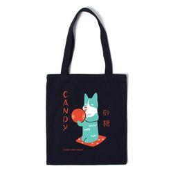캔디독 에코백 CANDY DOG ECO BAG - navy