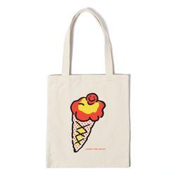아이스크림 에코백 ICECREAM ECO BAG - ivory