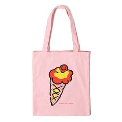 아이스크림 에코백 ICECREAM ECO BAG - pink