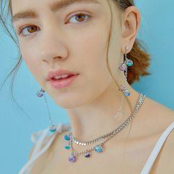 Snowball Sea Form Earrings