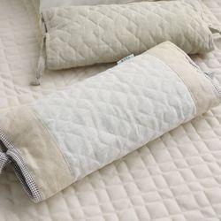 내추럴 삼베 편백알 베개(격자무늬) - 커버만구매