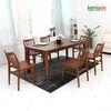 마로니에 6인용 원목식탁SET(의자형) KGD-602