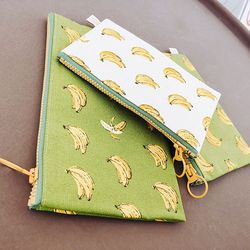 Green Banana Pouch (Midium)