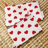 LOVELY RED HEART POUCH (Midium)