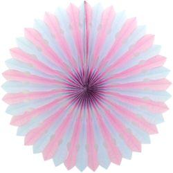 페이퍼휠 45cm 핑크&블루