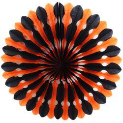 페이퍼휠 45cm 오렌지&블랙