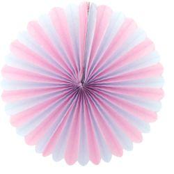 페이퍼휠 35cm 핑크&블루