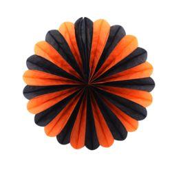 페이퍼휠 25cm 오렌지&블랙