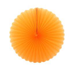 페이퍼휠 25cm 오렌지