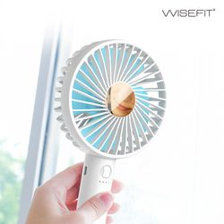 와이즈핏 휴대용 핸디 미니 선풍기 손거울