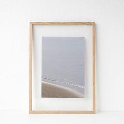 패브릭 투명액자 - 해변(yangyang) 32x44cm