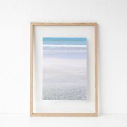 패브릭 투명액자 - 해변(jeju 4layer) 32x44cm