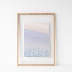 패브릭 투명액자 - 해변(jeju sand) 32x44cm