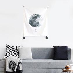 패브릭 포스터 달 moon(대형)